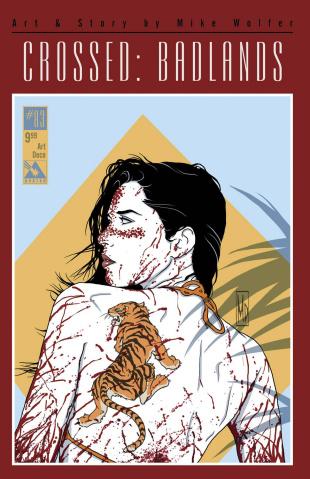 Crossed: Badlands #83 (Art Deco Cover)