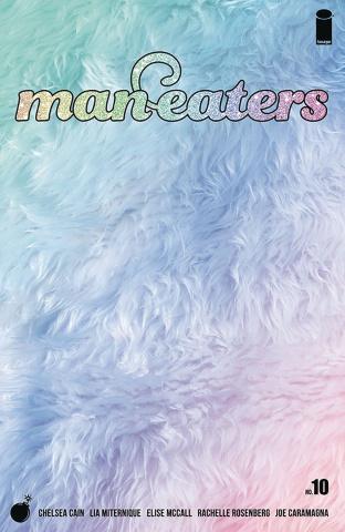Man-Eaters #10 (Miternique Cover)
