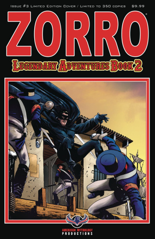 Zorro: Legendary Adventures, Book 2 #3 (Blazing Blades Cover)