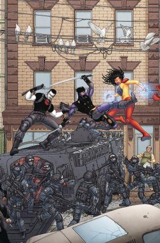 Ninjak vs. The Valiant Universe #2 (20 Copy Portela Cover)