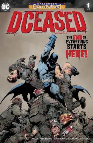 DCeased #1 (Halloween Comic Fest)