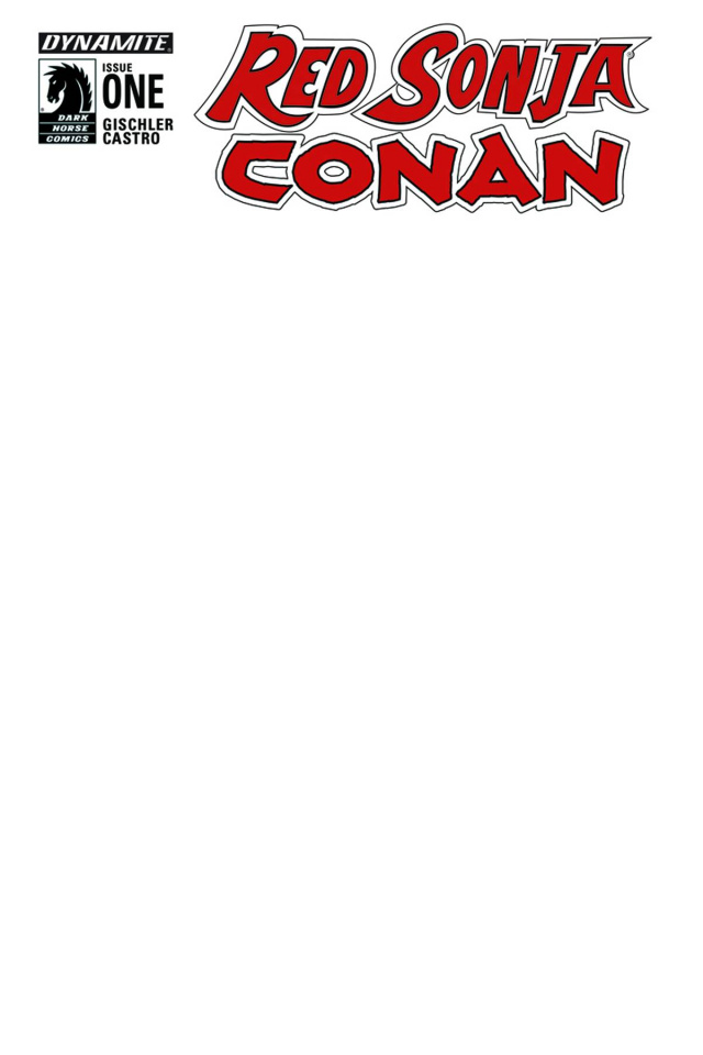 Red Sonja / Conan #1 (Blank Authentix Cover)