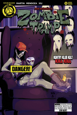 Zombie Tramp #15 (Risque Cover)