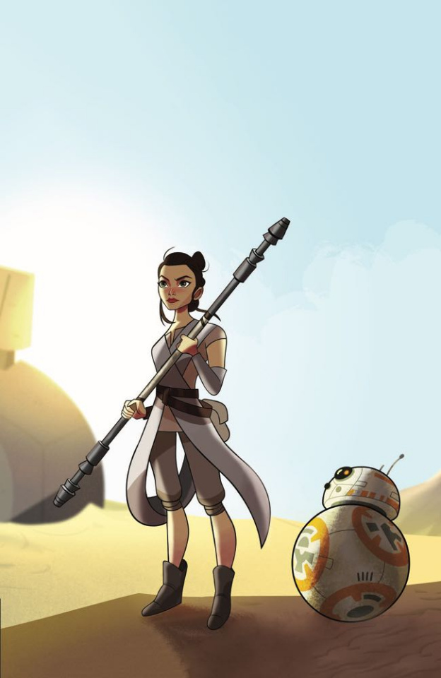 Star Wars Adventures: Forces of Destiny - Rey (10 Copy Cover)