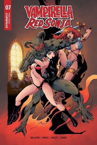 Vampirella / Red Sonja #7 (Castro Bonus Cover)