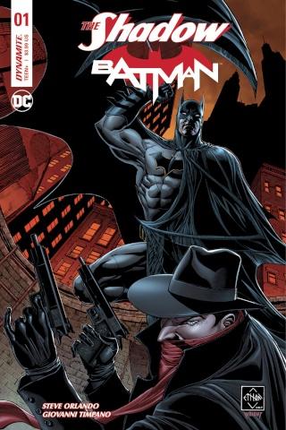 The Shadow / Batman #1 (Van Sciver Cover)