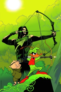 Green Arrow #46 (Looney Tunes Cover)