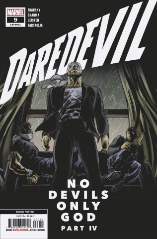 Daredevil #9 (Sharma 2nd Printing)