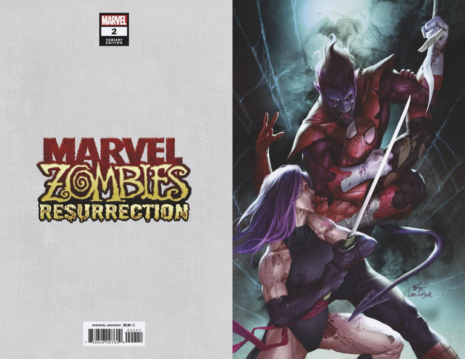 Marvel Zombies: Resurrection #2 (Inhyuk Lee Virgin Cover)