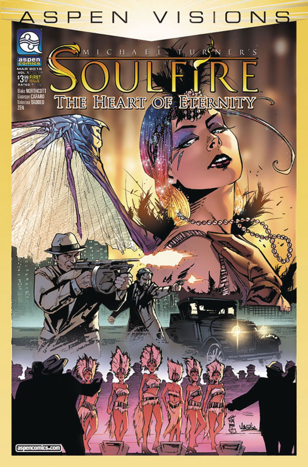 Aspen Visions: Soulfire - The Heart of Ice #1 (Cafaro Cover)