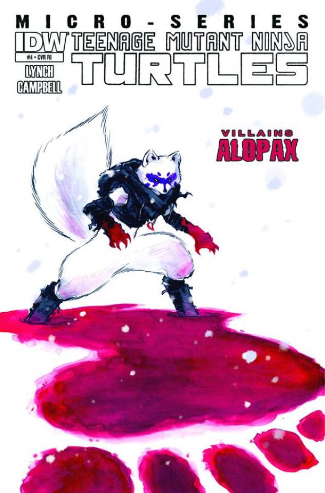Teenage Mutant Ninja Turtles: Villain Micro-Series #4: Alopex