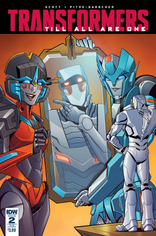 The Transformers: Till All Are One #2 (ROM Cover)