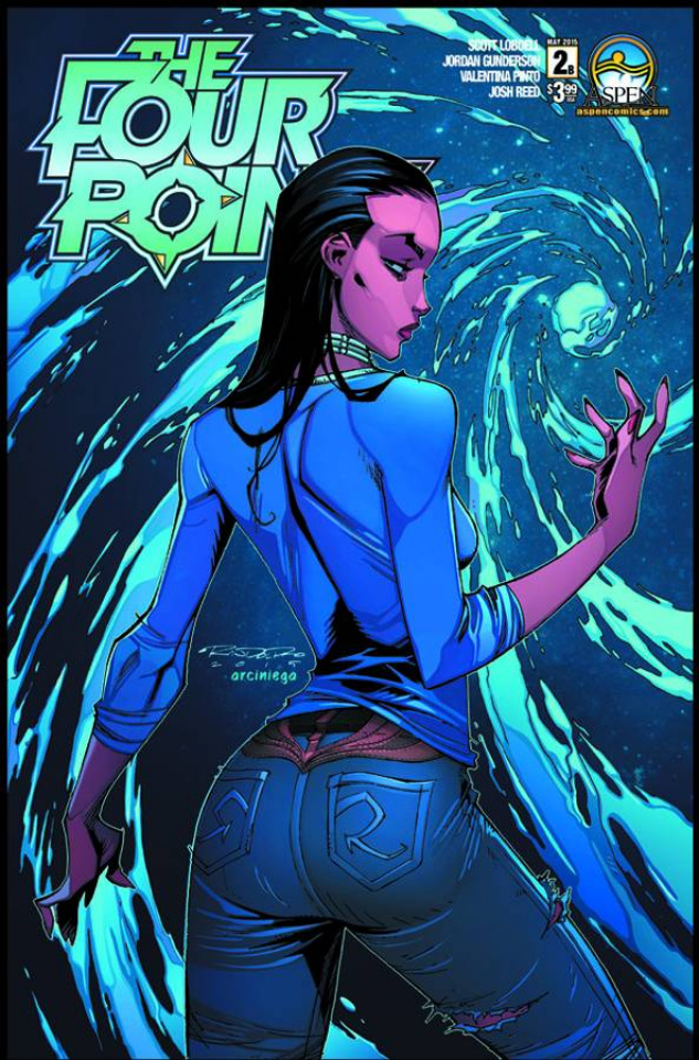 The Four Points #2 (Direct Market Cover B)