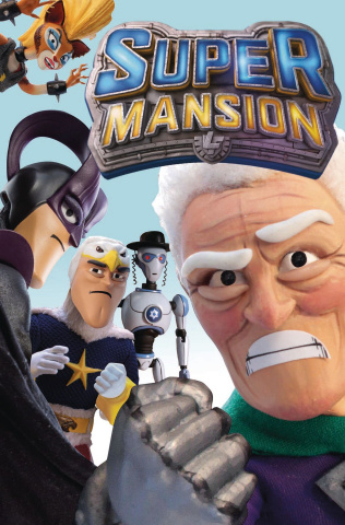 Supermansion #1 (TV Show Cover)