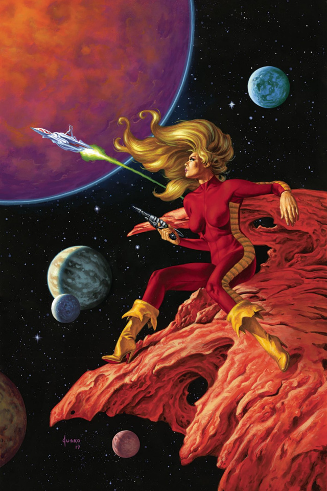 Barbarella #1 (50 Copy Jusko Virgin Cover)