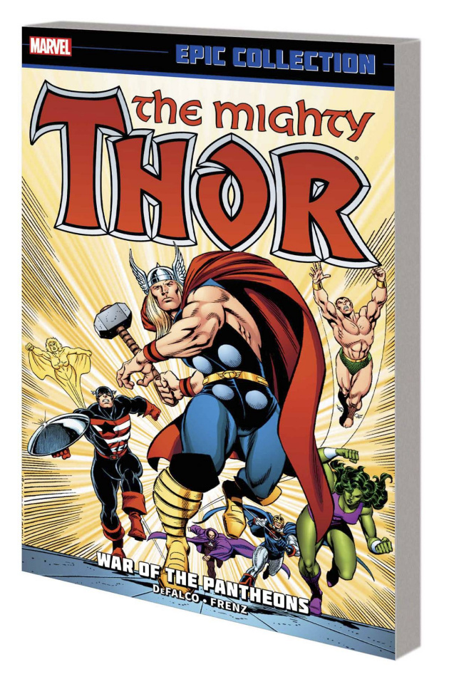 Thor Epic Collection: War of the Pantheons