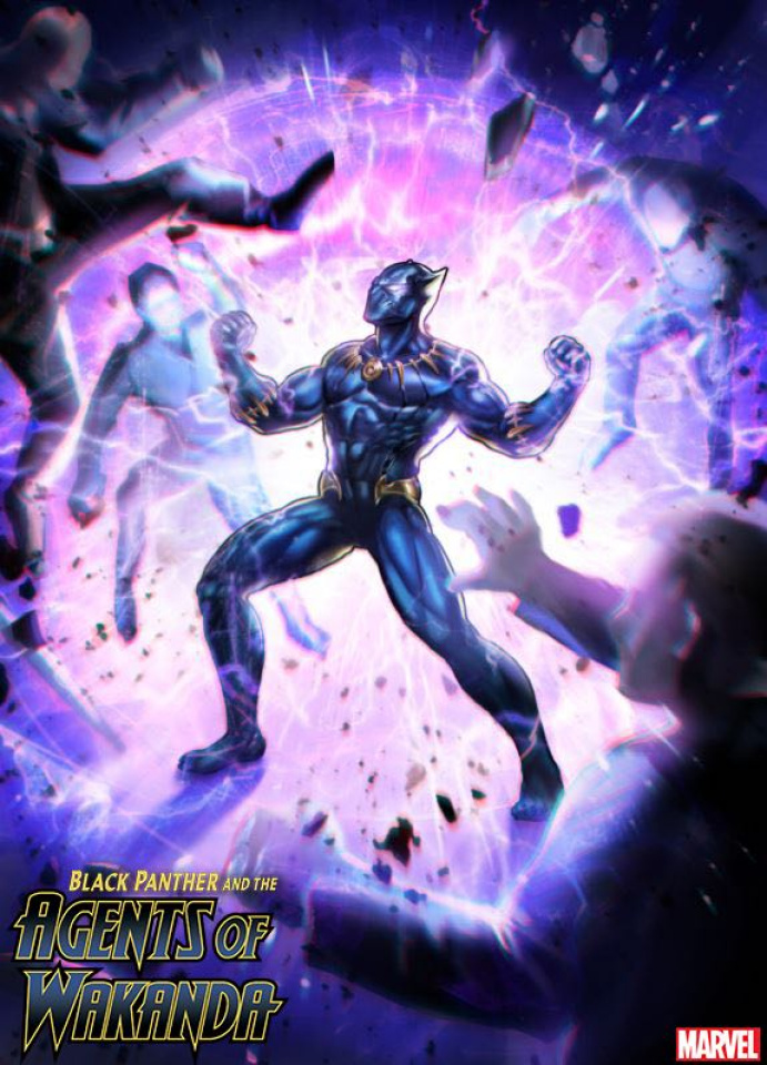 Black Panther and the Agents of Wakanda #2 (Game Cover)