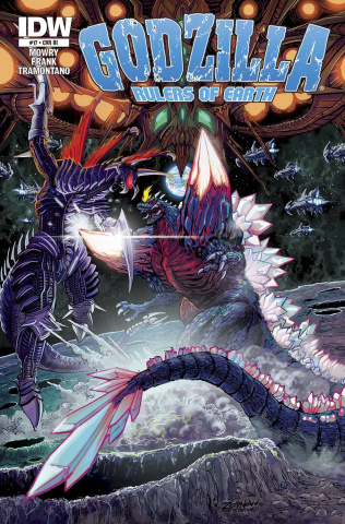 Godzilla: Rulers of Earth #17 (Subscription Cover)