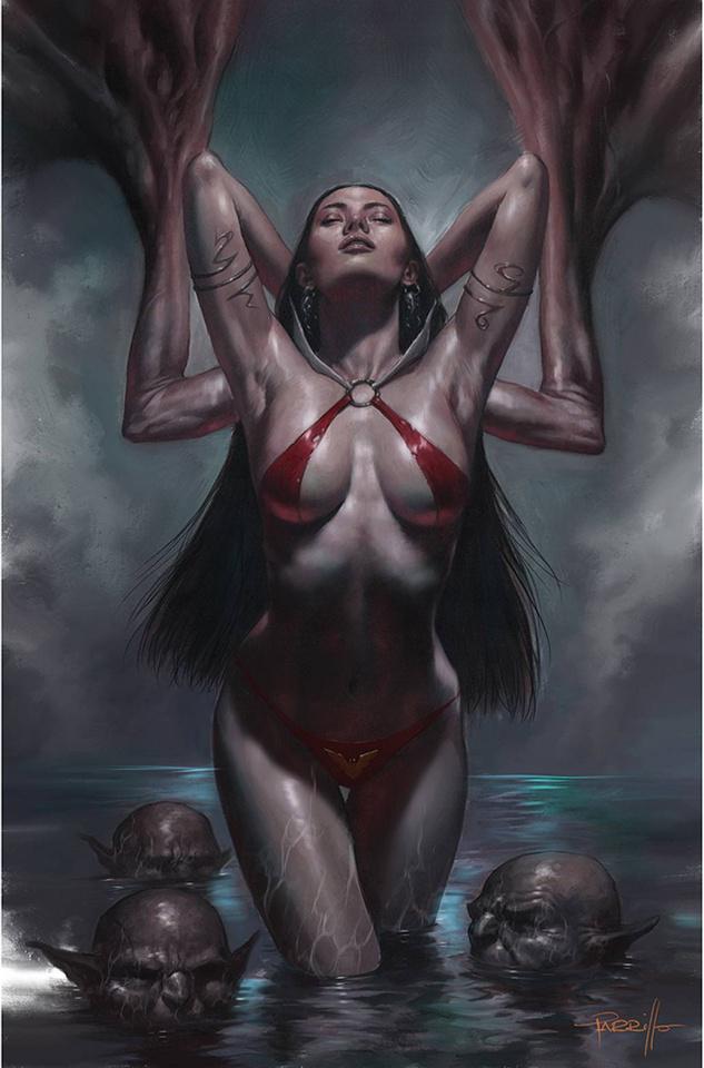 Vengeance of Vampirella #21 (Parrillo Virgin Cover)