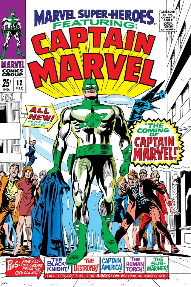 Captain Mar-Vell #1 (True Believers)