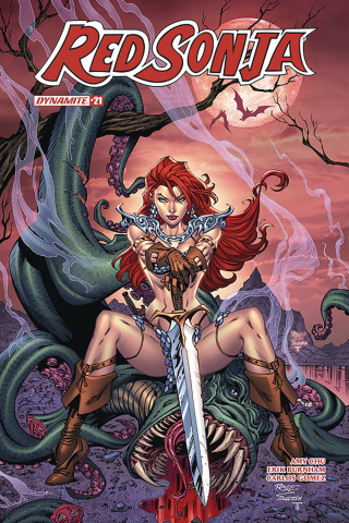 Red Sonja #21 (Royle Cover)