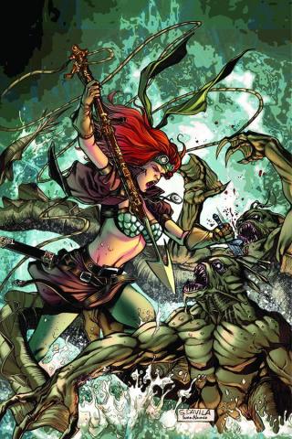 Legenderry: Red Sonja #2 (Davila Virgin Cover)