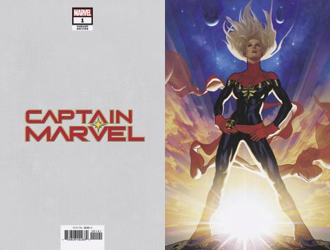 Captain Marvel #1 (Hughes Virgin Cover)