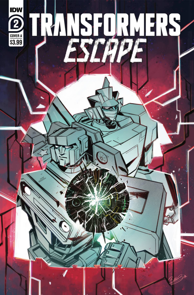 Transformers: Escape #2 (McGuire-Smith Cover)