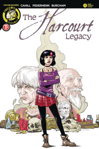 The Harcourt Legacy #1 (Cahill Cover)