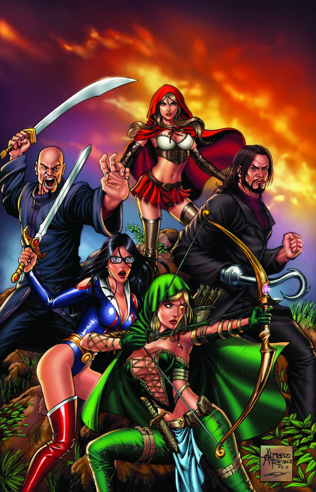 Grimm Fairy Tales: Realm Knights #1 (Reyes Cover)