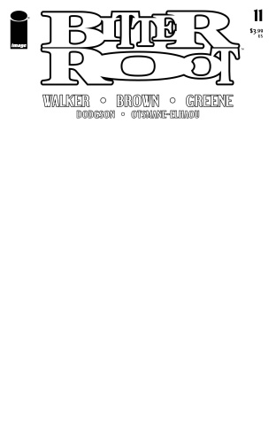 Bitter Root #11 (Blank Cover)