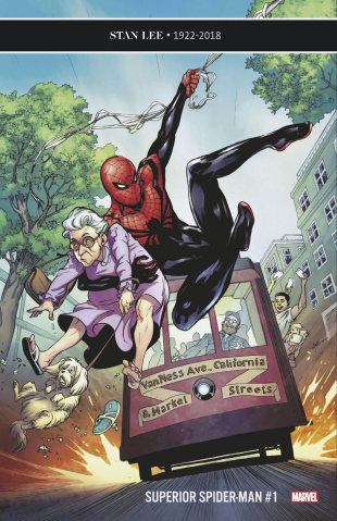 The Superior Spider-Man #1 (Lupacchino Cover)