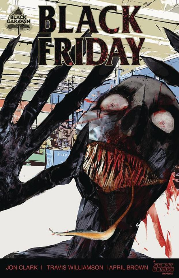 Black Friday #1 (10 Copy Unlocked Cover)