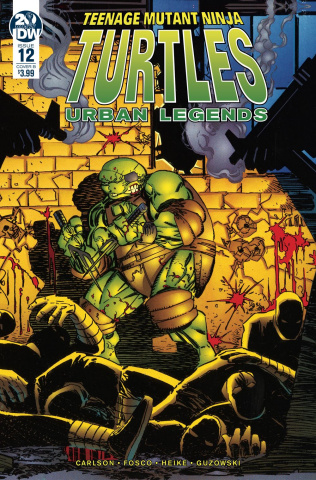 Teenage Mutant Ninja Turtles: Urban Legends #12 (Fosco & Larsen Cover)