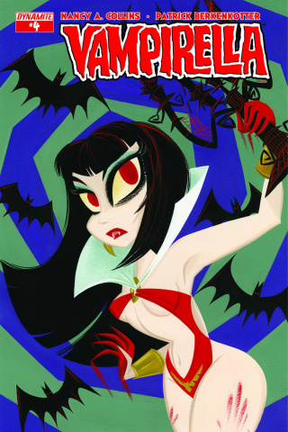 Vampirella #4 (Buscema Subscription Cover)