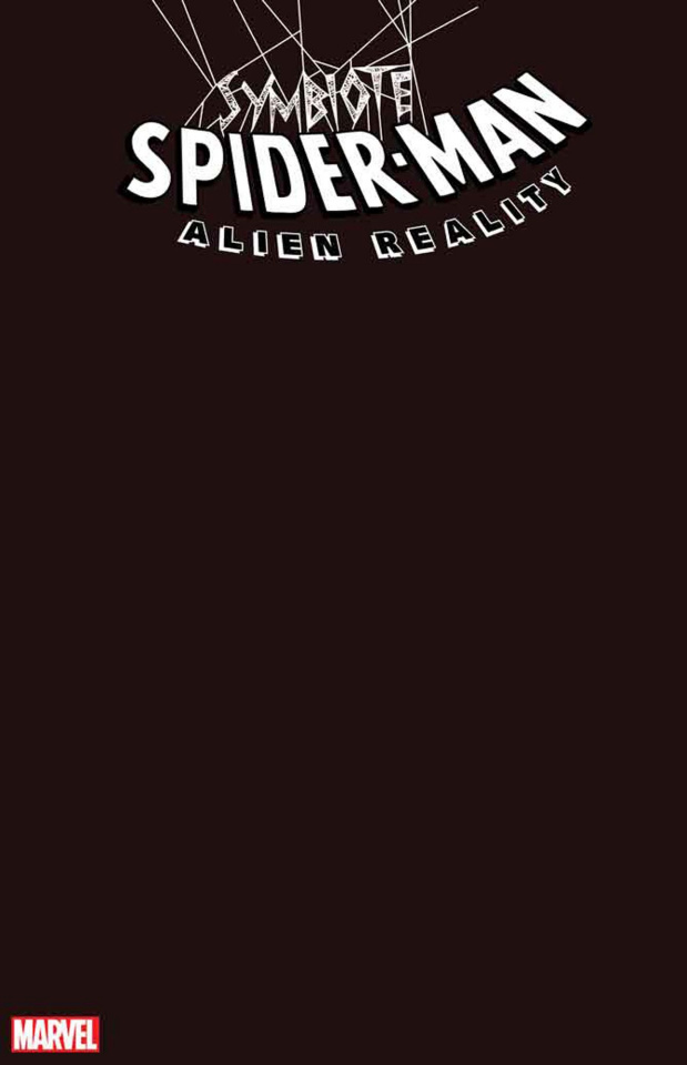 Symbiote Spider-Man: Alien Reality #1 (Black Blank Cover)