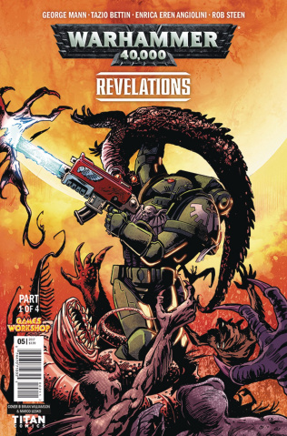 Warhammer 40,000: Revelations #1 (Williamson Cover)