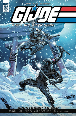 G.I. Joe: A Real American Hero #250 (10 Copy Cover)