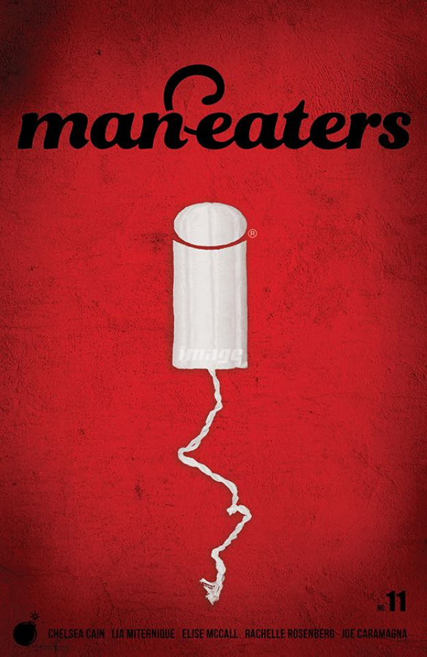 Man-Eaters #11 (Miternique Cover)