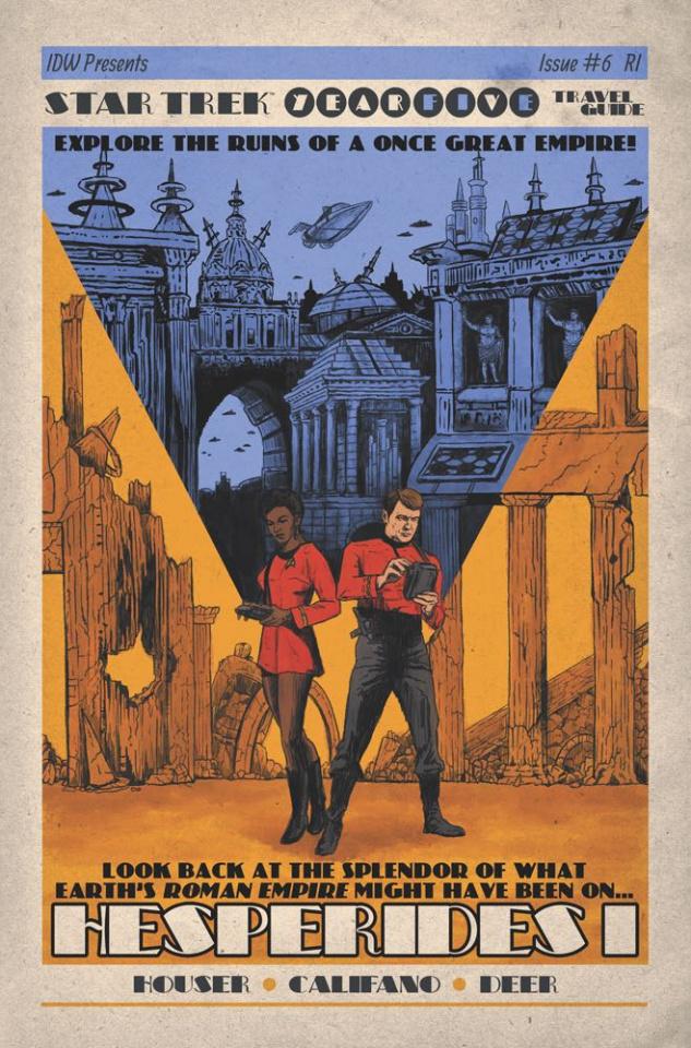 Star Trek: Year Five #6 (10 Copy Lendl Cover)