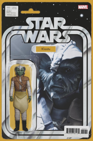 Star Wars #55 (Christopher Action Figure Cover)