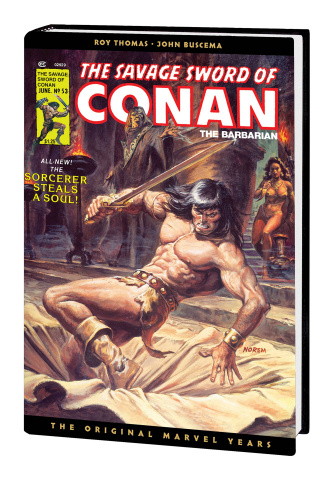 The Savage Sword of Conan: The Original Marvel Years Vol. 4 (Omnibus Norem Cover)
