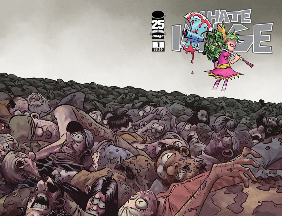 I Hate Fairyland #100 (Walking Dead Tribute Cover)