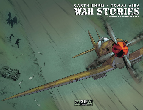 War Stories #26 (Wrap Cover)