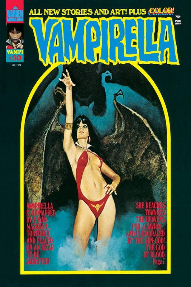 Vampirella #30 (1973 Replica Edition)