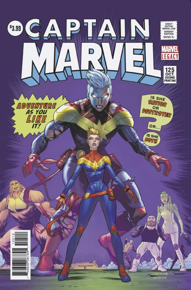 Captain Marvel #125 (2nd Printing)