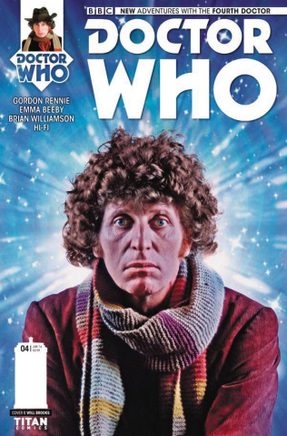 Doctor Who: New Adventures with the Fourth Doctor #4 (Photo Cover)