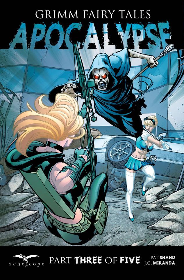 Grimm Fairy Tales: Apocalypse #3 (Cuffari Cover)