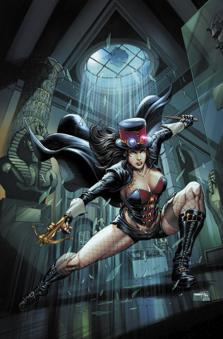 Grimm Fairy Tales: Van Helsing vs. The Mummy of Amun Ra #4 (Goh Cover)