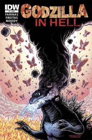 Godzilla in Hell #3
